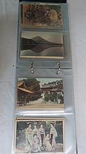 Postcards of Japan early 1900's unusual collection