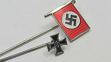 A WWII German lapel Iron Cross, dated 1939,
