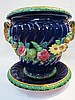 A large late 19thC. Mintons jardiniere, of