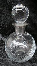 A contemporary spirit decanter for a cricket fan