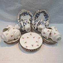 A late 20thC Royal Stafford tea service,