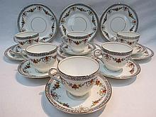 An early 20thC part tea service in Sanders Clifton