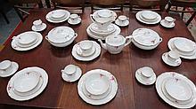 An extensive quantity of Spode bone china
