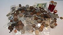 A quantity of 20thC pre-decimal UK coinage
