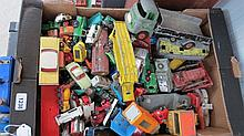 A large quantity of Dinky and Corgi die cast