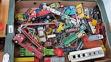 A large quantity of Lesney and Corgi die cast