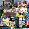 A quantity of boxed toy cars and lorries, mostly