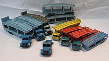 A Dinky Supertoys Pullmore car transporter no.