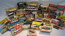 A quantity of die cast model vehicles by Dinky,