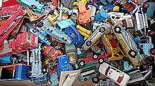 A quantity of Dinky and Corgi die-cast vehicles