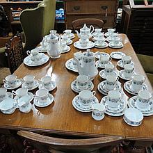A late 20thC Royal Kent part coffee service,