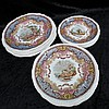 A set of eighteen Copeland late Spode plates, six