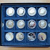 A collection of twelve Westminster proof coins