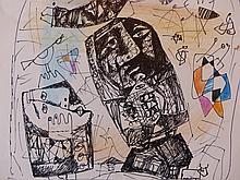 Vyacheslav Shraga,  Abstract Drawing