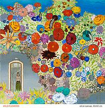 Revaz Kvaratskhelia,,  Wild Flowers