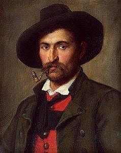 Franz von Defregger (Ederhof zu Stronach b. Dolsach/Tirol 1835-1921 Munchen) Bauer mit Pfeife ol auf Leinwand doubliert 61 x 48,5 cm Signiert und