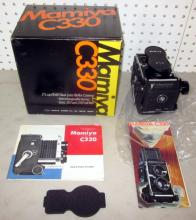 MAMIYA C330 STEREO CAMERA EXCELLENT WITH BOX