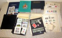 BIG FOREIGN STAMP LOT IN ALBUMS STOCK SHEETS GOOD VARIETY