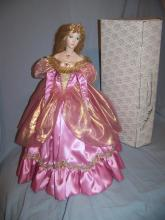 FRANKLIN MINT HEIRLOOM CINDERELLA GERDA NEUBACHER PORCELAIN COLLECTOR DOLL W/ BOX 19