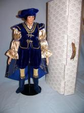 FRANKLIN MINT HEIRLOOM PRINCE CHARMING GERDA NEUBACHER PORCELAIN DOLL W/ BOX COA 21
