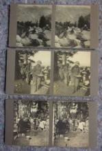 3 PRIVATE PHOTOGRAPHER STEREOVIEW CARDS EARLY YOSEMITE ?