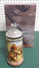 BUDWEISER WINCHESTER MODEL 94 LIMITED EDITION STEIN W/ ORIGINAL BOX