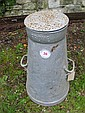A West Park Dairy Co. Ltd. milk churn with cover