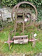 A chaff cutter and a seed drill