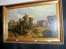 19th century English School - 43cm x 71cm - oil on