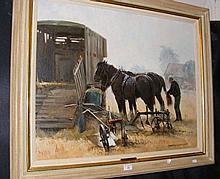 ROSEMARY SARAH WELCH - 60cm x 75cm - oil on canvas