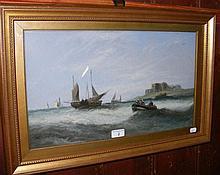 English School - 29cm x 49cm - gouache - shipping