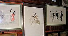 FRANK MARTIN - lithographic portrait Marlene