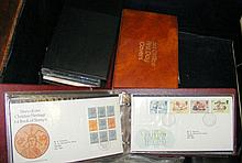 Four albums containing various First Day covers