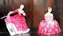 A Royal Doulton miniature figure