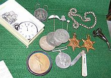 Various collectables, including 1902 American