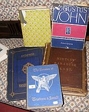Various interesting volumes on Augustus John and