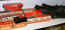 Various boxed railway rolling stock and
