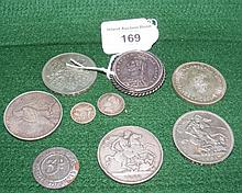 Silver crowns and other collectable coinage