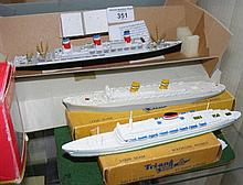 A Tri-ang Minic ship in original box, together