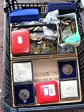Large selection of collectable coinage