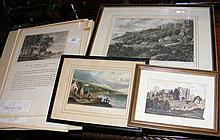 Various old Isle of Wight engravings