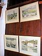 C. H. BURLEIGH - a pair of original watercolours -