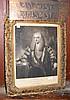 49cm x 36cm - monochrome engraving - Sir John