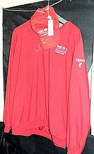 An HSBC World Match Play Championship jacket and