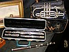 A plated bugle by Ball, Beavon & Co., Paris &