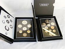 Two Royal Mint United Kingdom proof coin sets - 2012/13