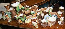 """A large quantity of assorted Hornsea """"Fauna"""" ware"""