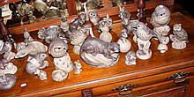 Collection of over thirty assorted Poole Pottery model animals and birds, i