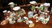 "A collection of over 20 items of Hornsea ""Fauna"" ware including jugs, vases"