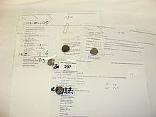 Four rare early coins - Iron Age and later